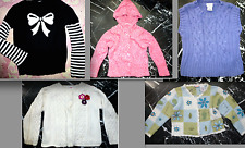 GYMBOREE Girls CABLE KNIT EMBROIDERED BEADED Hooded CARDIGAN Sweater VEST 4T 4