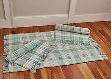 Garden Gate Rag Rug by Park Designs, Pick 24x42, 36x60 or 24x72, Spring Plaid