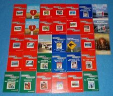 MINT STAMP BOOKLETS NEW ZEALAND POST COMPLETE & UNUSED  - SELECT BOOKLET