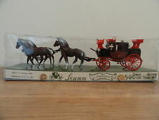 BRUMM HORSE DRAWN CARRIAGE,1:43,EXCELLENT CONDITION