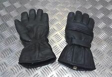 Genuine British Police Issue Leather Dynamic Waterproof Motorcycle Gloves