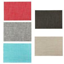 Home Kitchen PVC Dining Room Weave Placemat Tableware Heat Insulation Place Mat