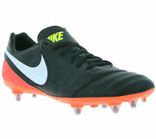 New Nike Tiempo Legacy II SG SHOES FOOTBALL BOOTS TRAINERS BLACK 819716 018