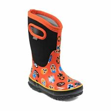 Bogs Kid's Classic Mask Kids' Insulated Boots Orange Multi 72156-844