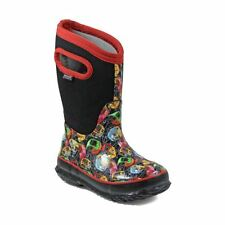 Bogs Kid's Classic Kiddie Cars Kids' Insulated Boots Black Multi 72161-009