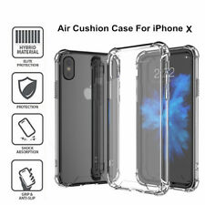 Ultra Thin Clear Transparent Silicone TPU Soft Back Case Cover Skin For iPhone X