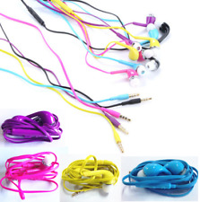3.5mm Stereo Audio Earphone W/Volume Control For iPhone Samsung Galaxy S4 i9500