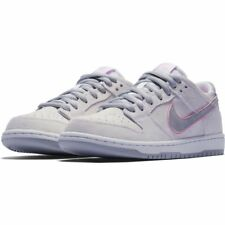 Nike SB Shoes Dunk Low Pro Ishod Wair White Pink Silver Skateboard Sneakers