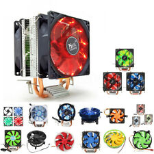 CPU Cooler Fan Heatsink / Case Fan for Intel LGA775/1156/1155 AMD 54/939/940/AM2