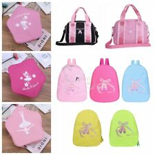 Girl Kids Gymnastic Dance Ballet Star Shaped Shoulder Bag Backpack Embroidered