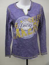 New Los Angeles Lakers Size Womens Sizes S/M Purple Shirt MSRP $40
