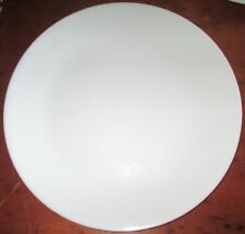 Used Corelle Corning White Dinner Plate