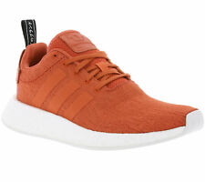 Adidas Originals NMD_R2 Primeknit Boost Men's Sneakers Trainers Orange by9915