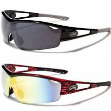 XLOOP New Mens Boys Womens Designer UV400 Sports Golf Black Wrap Sunglasses XL69