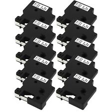 10-PACK Compatible 40913 / 41913 Black on White Label Tape for Dymo Label Maker