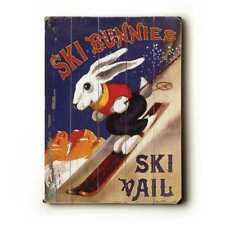 Vintage Ski Bunnies - Wall Decor by Posters Please