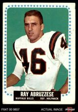 1964 Topps #22 Ray Abruzzese -  Bills FAIR