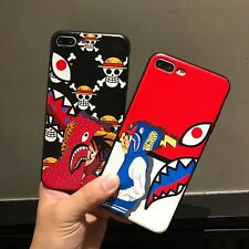 Lovely Cartoon Soft TPU Rubber Silicone Gel Case Cover For iPhone 8 7 6s Plus