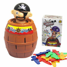 Creative Kid's Funny Lucky Stab Pop Up Toy Gadget Pirate Barrel Game Toy Gift
