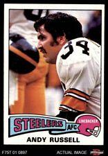 1975 Topps #90 Andy Russell Steelers EX/MT