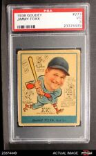 1938 Goudey Heads Up #273 Jimmie Foxx Red Sox PSA 3 - VG