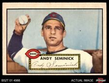 1952 Topps #297 Andy Seminick -  Reds EX/MT