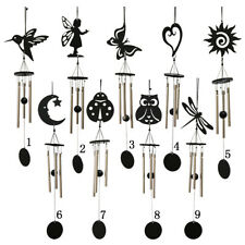 Retro Tube Metal Lucky Bell Windchime Home Garden Classical Hanging Decor 9Types