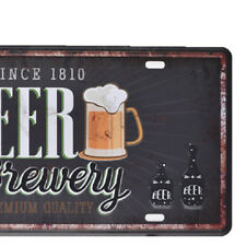 Bar Cafe Garage Wall Decor Retro Tin Sign Wall Plaque Metal Beer Paintings