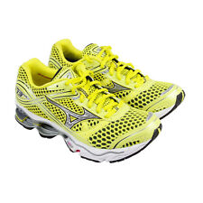 Mizuno Wave Creation 13 Womens Yellow Mesh & synthetic Athletic Running Shoes
