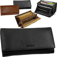 Esprit Women's Leather Wallet Wallet Purse Purse Leather Ladys Purse