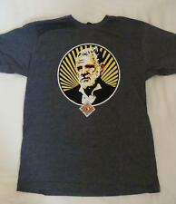 NEW DOS EQUIS BEER MAN T-SHIRT GRAY SZ L & XL MOST INTERESTING MAN IN THE WORLD