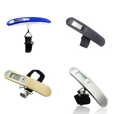 Compact Portable Travel Tare 110lb 50kg Hanging Digital LCD Luggage Scale