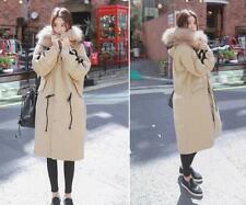 2017 New hot  Women's 100% Real Fur Down jacket Lady Parka  Long  Warm Coat