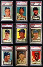 1952 Topps 1952 Topps High Number Complete Set VG/EX