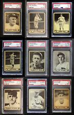 1940 Play Ball 1940 Play Ball Partial Complete Set EX