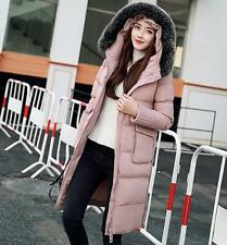 2017 Winter   Women's 100% Real Fur Down jacket Lady Parka Hot Warm Coat   S-XL