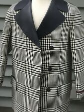 NEW TOMMY HILFIGER WOMENS RUNWAY COLLECTION PATTERNED LEATHER COAT NWT $1499 HTF