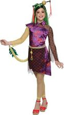 Exotic Fashionista Monster High Jinifire Long Girl Purple Costume/Wig, Rubies