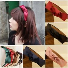 Korean Girls Cute Sweet Ribbon Multilayer Bowknot Bow Headband Hair Accessories