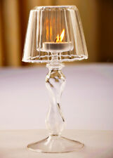European Crystal Glass Candle Holder Tealight Wedding Party Decor Candlestick