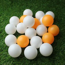 Durable 100/150PC 40MM Olympic Table Tennis White/Yellow Ping Pong Balls
