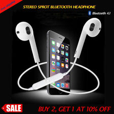 Wireless Bluetooth Headset Stereo Headphone Earphone Sport for Samsung/ LG US