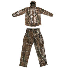 Forest Camo Hunting Hoodie Jacket Pants, Camouflage Suit - Woodland