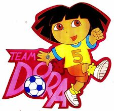 """4.5""""-8.5"""" Dora & diego sports soccer wall safe sticker border cut out character"""