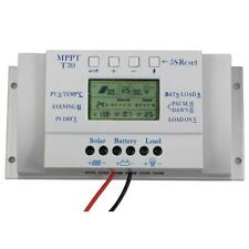 LCD 10/20/30/40A Solar Panel Regulator Battery Charge Controller 3-timer MT