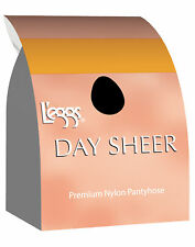 L'eggs Day Sheer Knee Highs, Reinforced Toe Knee High Stockings 12-Pack