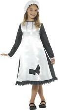 Girls Poor Victorian Scullery Maid TV Film Book Day Fancy Dress Costume Outfit