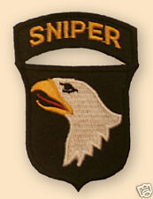 NEW ELITE 101st US Airborne Division snipers arm patch