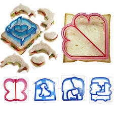 DIY Kids Sandwich Toast Cookies Cake Bread Biscuit Food Cutter Mould Mold F0216
