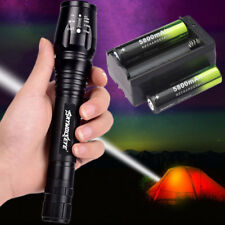 20000LM 5Modes XML T6 LED Zoomable Flashlight Torch 18650 battery Light Lamp